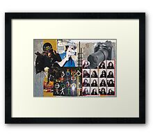 Equilibrium - the sharp edges of altered reality Framed Print