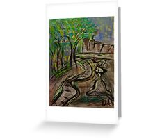 A Walk In The Park...Ghost of Me... Greeting Card