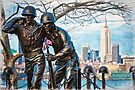 Hoboken Waterfront War Memorial by Chris Lord