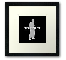 SupportSpike.com Logo Products Framed Print