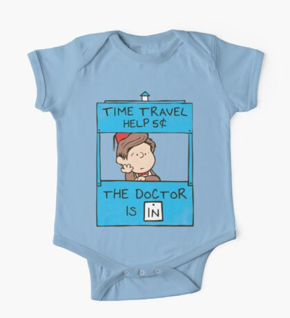 The Doctor Is In One Piece - Short Sleeve