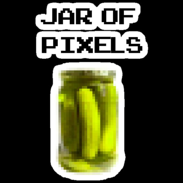 Jar of Pixels by nicegood
