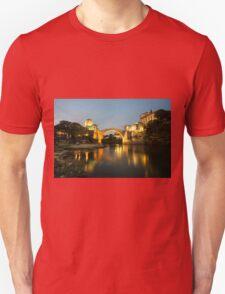 Stari Most by night  Unisex T-Shirt
