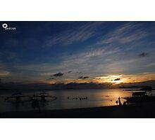 calaguas sunset Photographic Print