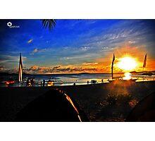 Calaguas sunset (hdr) Photographic Print