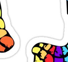 rainbowel Sticker