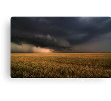 Shelf Cloud Near Nash, Oklahoma Canvas Print