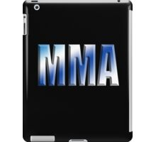 MMA, Mixed, Martial Art, Contest, Combat, Fight, Box, Ju Jitsu, Wrestle, Grapple iPad Case/Skin