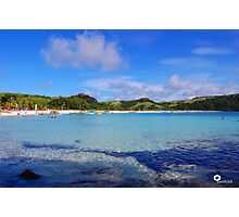 Calaguas Island Clear waters Photographic Print