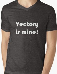 Vectory is mine! Mens V-Neck T-Shirt