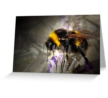 Just Bumble Greeting Card