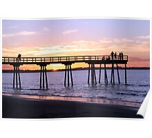 Hervey Bay Sunset Poster