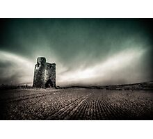 Facing the Storm Photographic Print