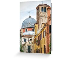 Former Convent Frari, Venice Greeting Card