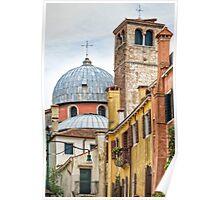 Former Convent Frari, Venice Poster