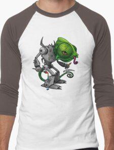 Chameleonbot Men's Baseball ¾ T-Shirt
