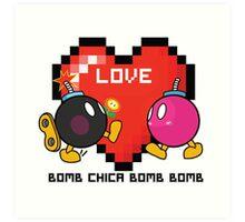 Bomb Bomb <3 Art Print