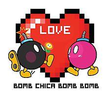Bomb Bomb <3 Photographic Print