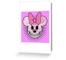 Minnie. Greeting Card