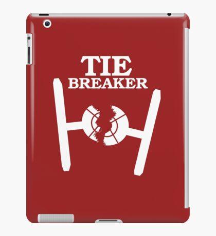 TIE BREAKER white iPad Case/Skin