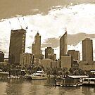 Perth Skyline by Robert Abraham