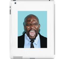 VECTOR PORTRAIT----terry crews iPad Case/Skin