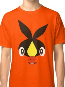 Pokemon - Tepig / Pokabu Classic T-Shirt