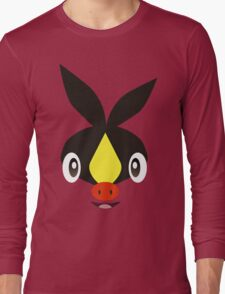 Pokemon - Tepig / Pokabu Long Sleeve T-Shirt