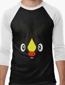 Pokemon - Tepig / Pokabu Men's Baseball ¾ T-Shirt