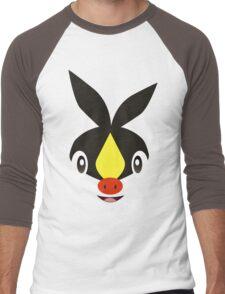 Pokemon - Tepig / Pokabu Men's Baseball ¾ T-Shirt