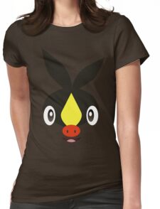Pokemon - Tepig / Pokabu Womens Fitted T-Shirt