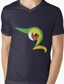 Pokemon - Snivy / Tsutarja Mens V-Neck T-Shirt