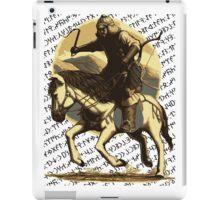 Bilge Kağanın Sözü / Atlı Asker iPad Case/Skin