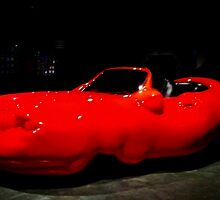 The Red Cellulite Car by myraj