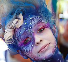 BEAUTIFUL BLUE BODY ART by Julieholl