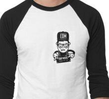 EDM TRVP MUSIC Men's Baseball ¾ T-Shirt