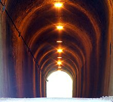 Light at the end of the tunnel by Paul  Green