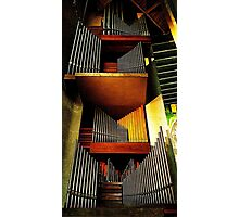 Organ pipes, Coventry Cathedral 2 Photographic Print