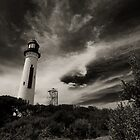 White Lighthouse - Queenscliff by Jack Jansen