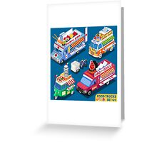 Food Truck Collection Greeting Card