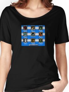 Shovel Knight Mega Man Stage Select Women's Relaxed Fit T-Shirt