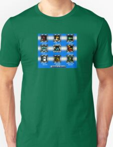 Shovel Knight Mega Man Stage Select T-Shirt
