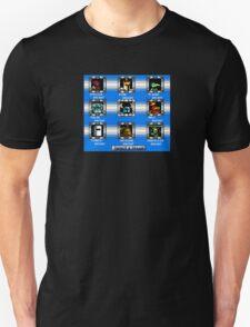 Shovel Knight Mega Man Stage Select T-Shirt