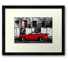 Red Door vs Turbo Framed Print