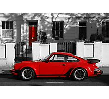 Red Door vs Turbo Photographic Print