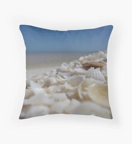 Shell Beach - Western Australia Throw Pillow