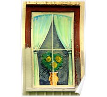 A Painted Window............. not Boarded... Poster