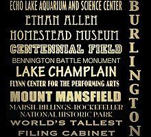 Burlington Vermont Famous Landmarks by Patricia Lintner