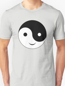 Smiley Yin Yang Unisex T-Shirt