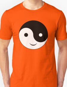 Smiley Yin Yang T-Shirt
